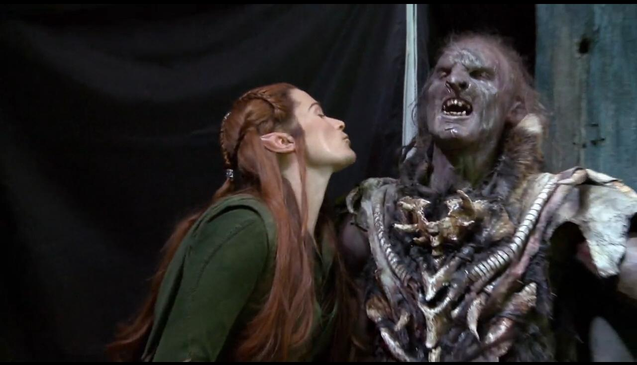 Tauriel images Tauriel and Orc Behind the Scenes HD ...