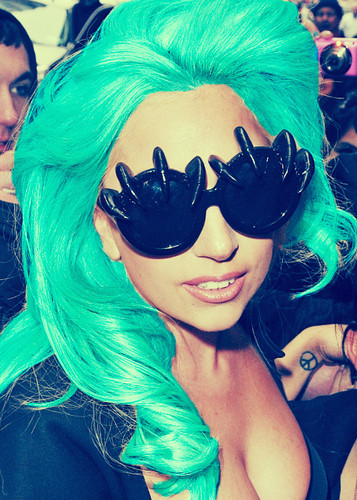taling, groenblauw GaGa