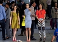 The Girls on set (January 31st) - 90210 photo