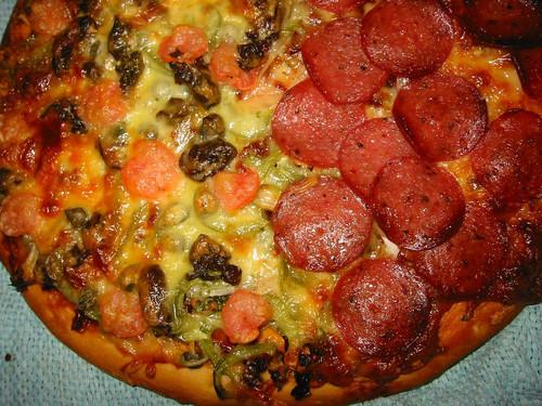 The Half & Half Pizza!