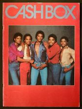 "The Jacksons On The Cover Of ""CashBox"" Magazine"