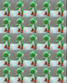 The Many Yoshis  - yoshi fan art