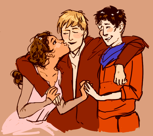 The OT3 (Fanart) Awwww This Is Lovely
