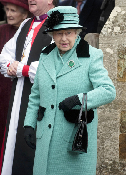 The Queen Goes to Church