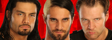 The Shield (WWE) wallpaper with a portrait entitled The Shield