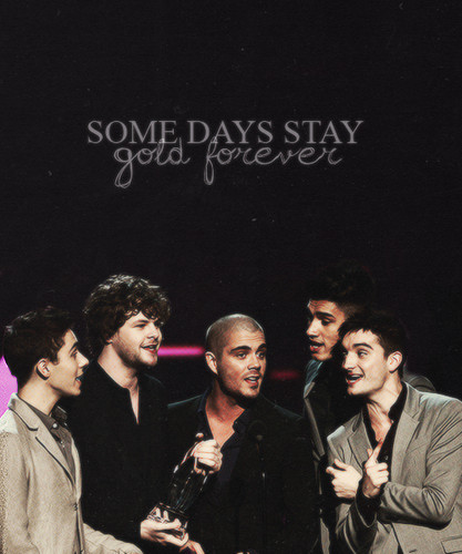 The Wanted Some Days Stay emas Forever