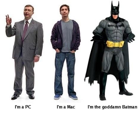 The goddamn batman!