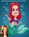 The little Mermaid Theme Caricature - the-little-mermaid photo
