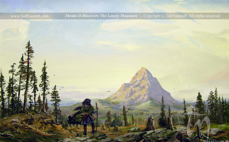 Lonely Mountain Images Thrain Discovers The Lonely Mountain Hd