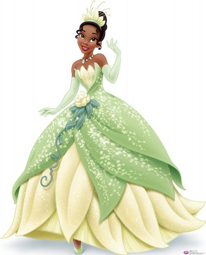 Princesses Disney fond d'écran entitled Tiana royal debut