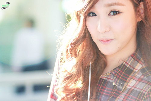 Tiffany Hwang wallpaper containing a portrait entitled Tiffany ~♥