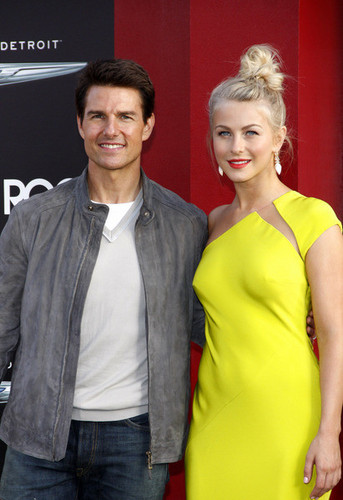 Tom and Julianne Hough