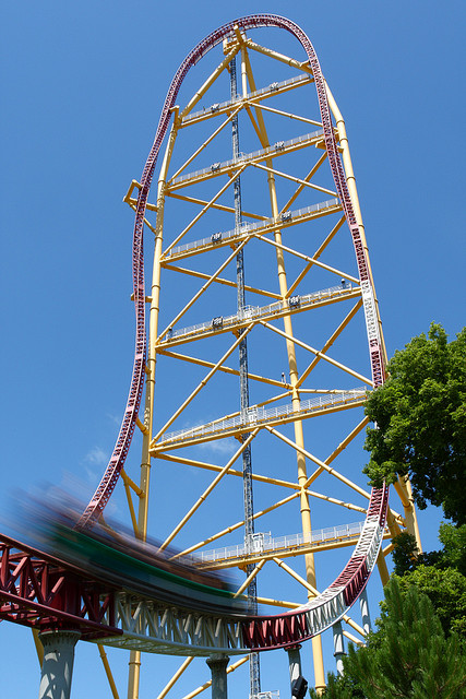 Top Thrill Dragster - Rollercoasters Photo (33487243) - Fanpop