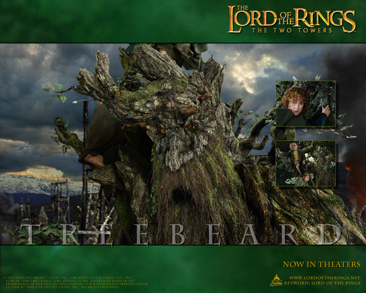 Lord Of The Rings Twin Towers