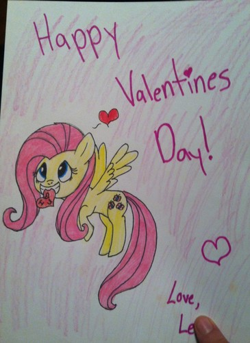 Valentines card for my friend :3