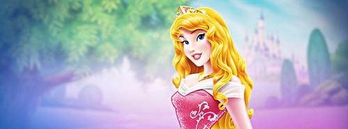 Walt 디즈니 페이스북 Covers - Princess Aurora