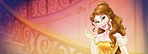 Walt disney facebook Covers - Princess Belle