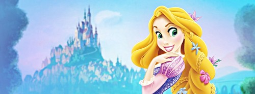 Walt Дисней Facebook Covers - Princess Rapunzel