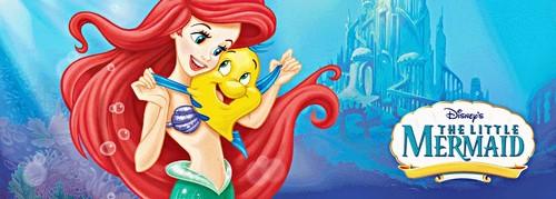 Walt ディズニー 画像 - Princess Ariel & ヒラメ