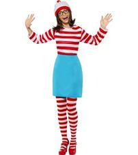 Where's Wally Wenda Costume