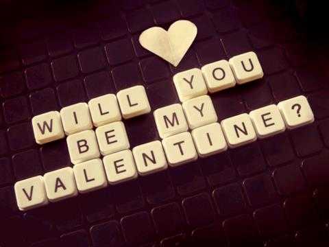 Will te Be My Valentine?