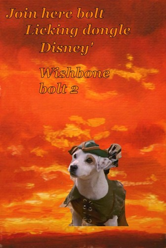 Disney's Bolt wallpaper probably containing anime called Wishbone bolt 2 wallpapers