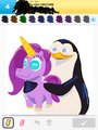 You Draw Unicorn - penguins-of-madagascar fan art