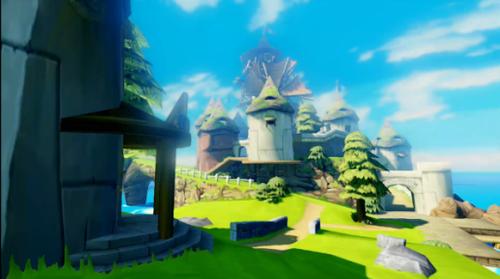 Zelda The Wind Waker Wii U HD
