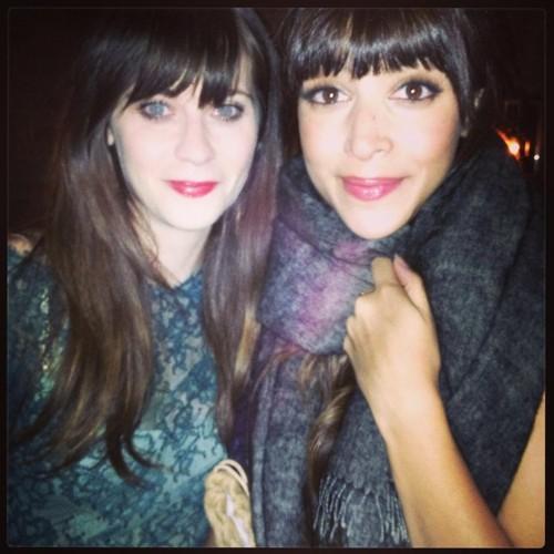 Zooey Deschanel & Hannah Simone