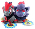 Zoroark and Zorua plush