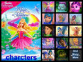 barbie fairytopia magic of the rainbow charcters - barbie-movies fan art