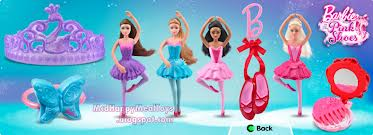 barbie in the roze shoes mcdonalds toys
