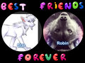 best friends forever - animals fan art