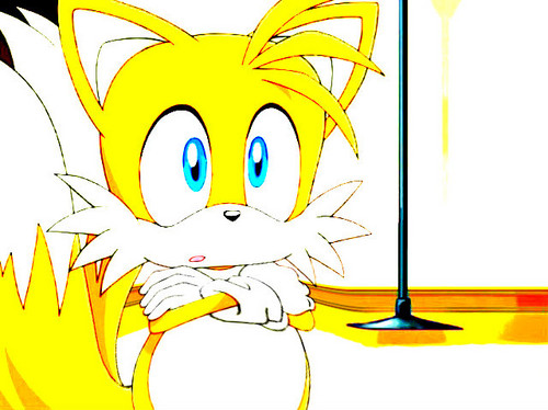 "Miles ""Tails"" Prower wallpaper titled bright cute fat tails..."