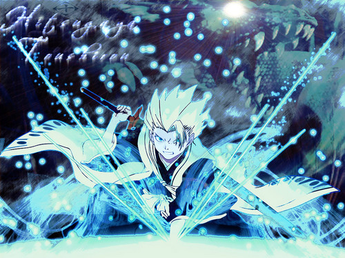 Bleach Anime Wallpaper Entitled Captain Hitsugaya