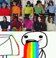 colors of the rainbow - michael-jackson photo