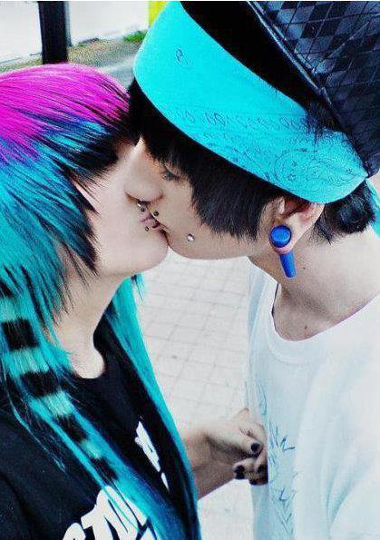 Emo images couples :3 wallpaper and background photos (33438701)