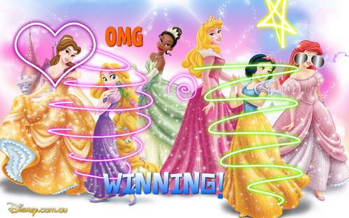 disney princess parade