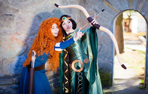 elinor and merida