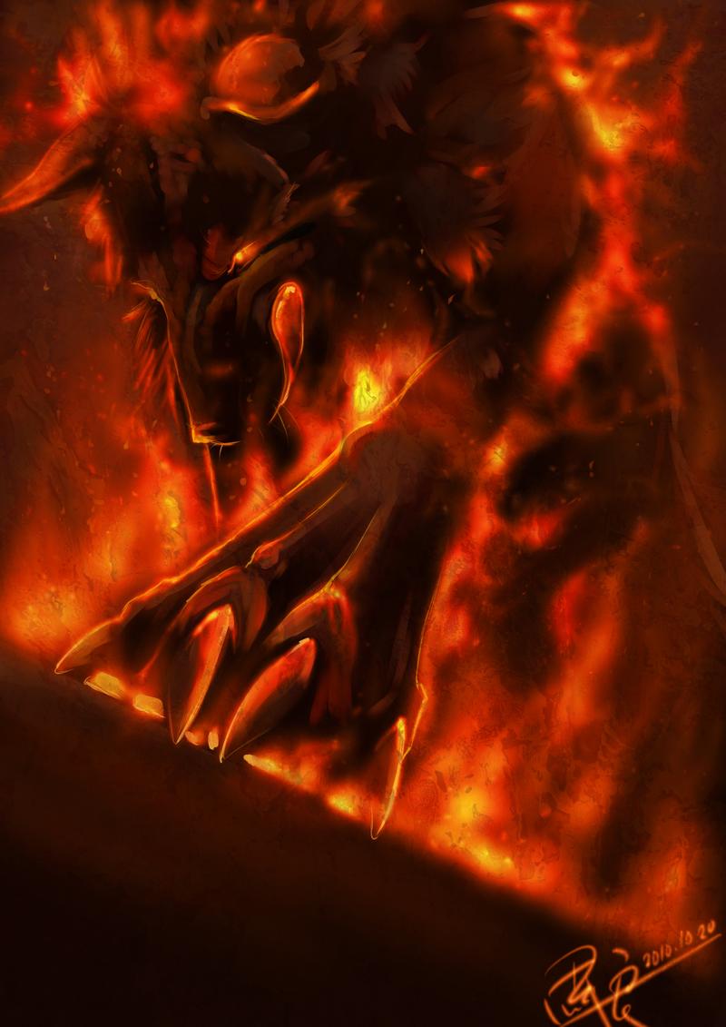 আগুন নেকড়ে from hell 2