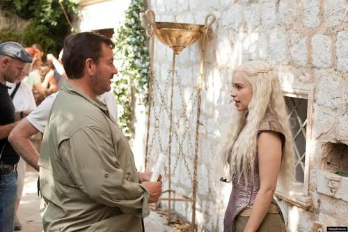Daenerys Targaryen- Behind the Scenes
