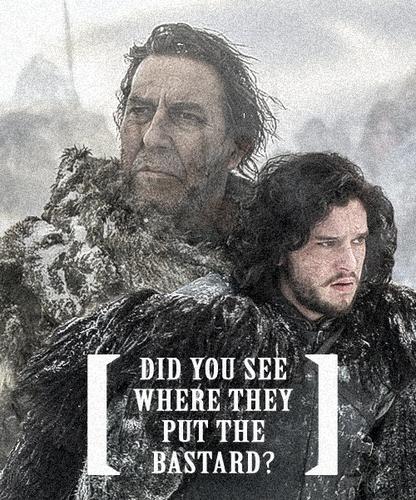 Mance Rayder & Jon Snow