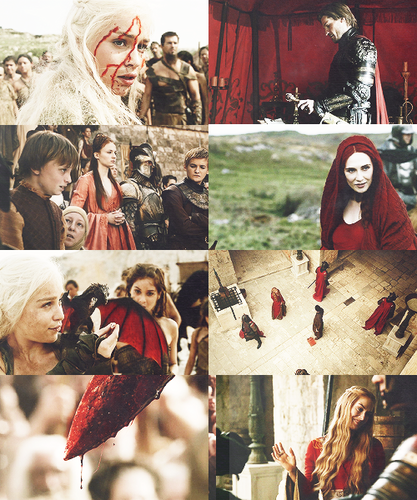 Game Of Thrones + Red