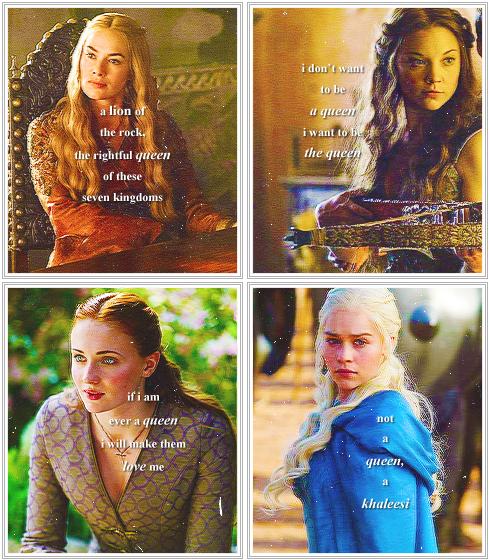 queens of game of thrones
