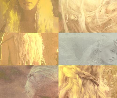Daenerys Targaryen + Hairporn