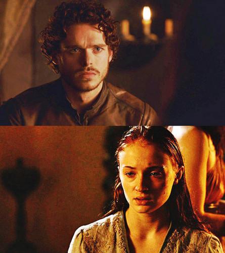 Robb & Sansa Stark