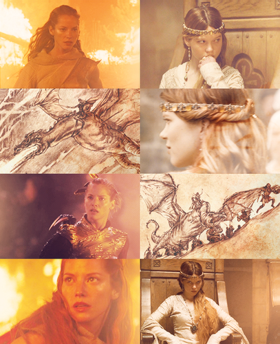 Visenya and Rhaenys Targaryen