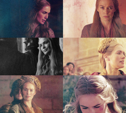 Cersei Lannister + up close & personal
