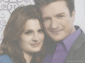 happy at last - castle-and-beckett wallpaper
