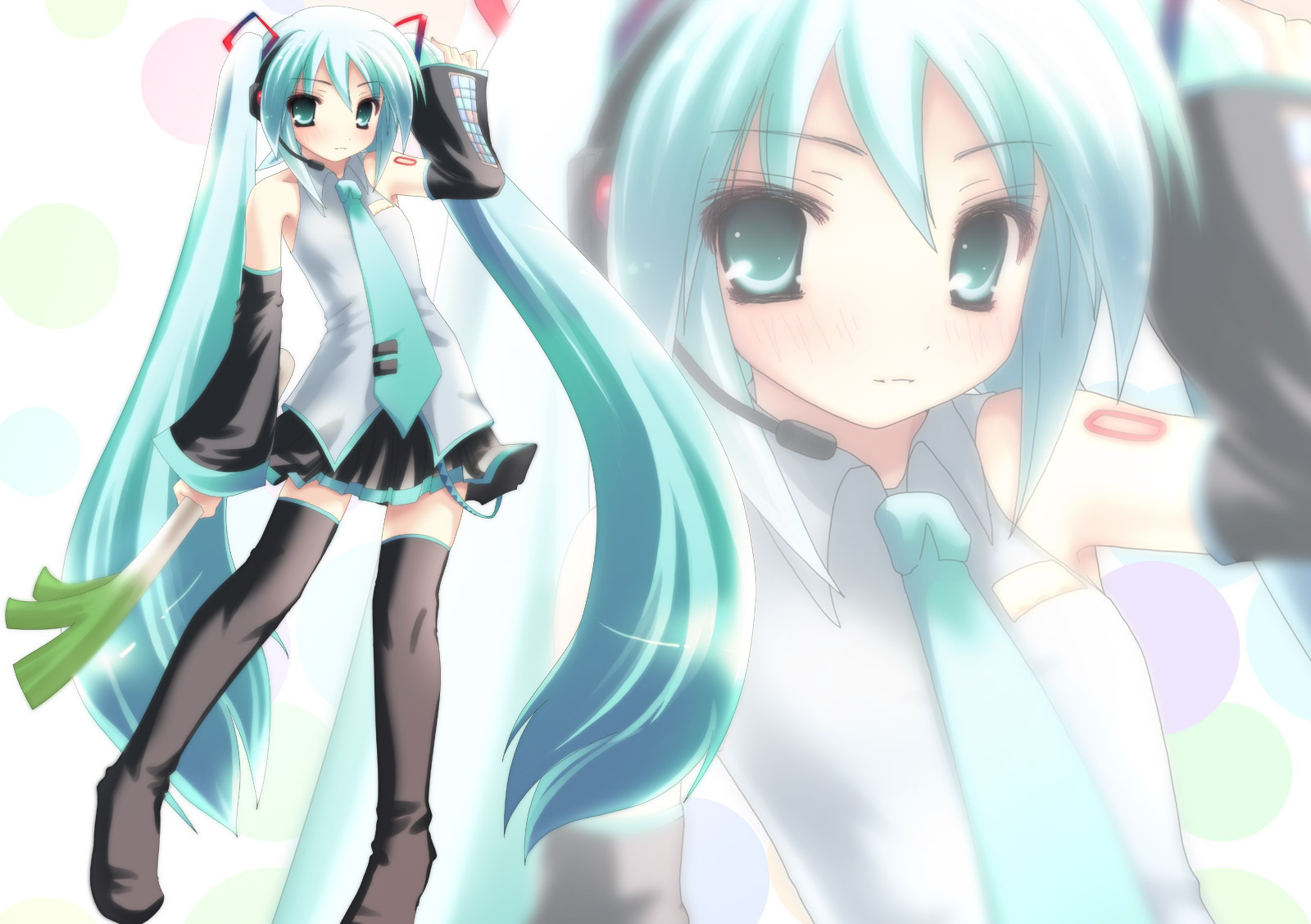 vocaloid cute miku anime - photo #26